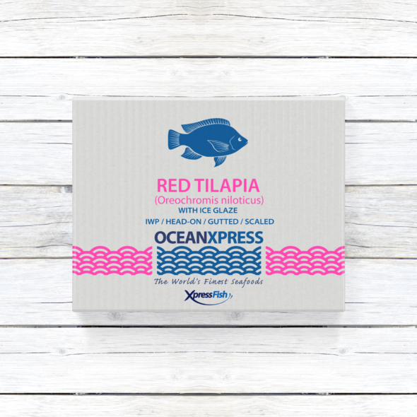 Ocean Xpress Whole Red Tilapia   Gutted and Scaled   Image 1