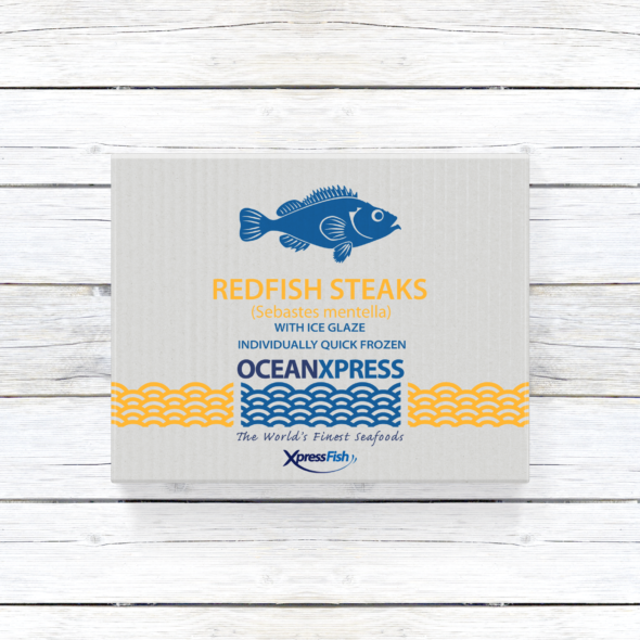 Ocean Xpress Redfish Steaks | Skin On Pin Bone In | Image 1