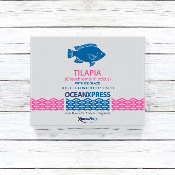 Ocean Xpress Whole Black Tilapia | Gutted and Scaled | Image 1